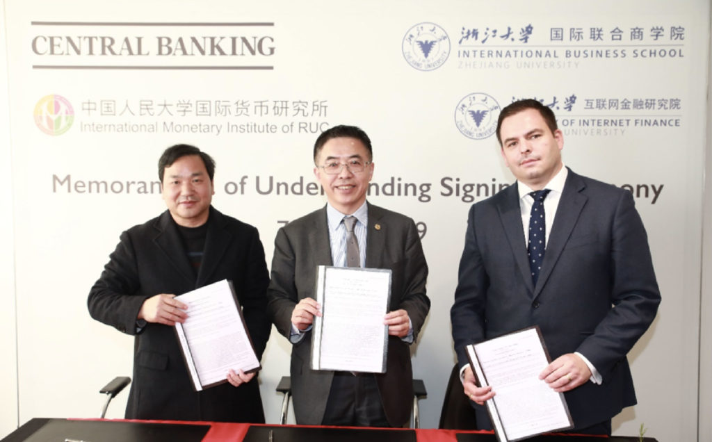 Tripartite Partnership for a Better Future-ZIBS Signs MoU with Central Banking Publications for Strategic Cooperation