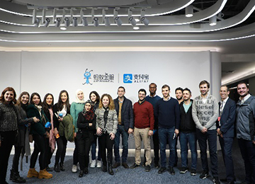 Zhejiang University International Business School (ZIBS) is pleased to host a group of graduate business students from the Lebanon.