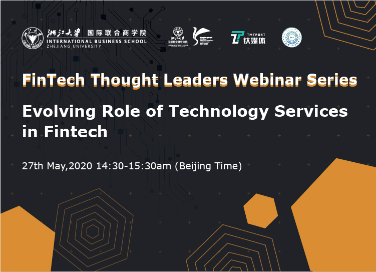 FinTech Thought Leader Webinar Series | Evolving role of Technology Services in Fintech