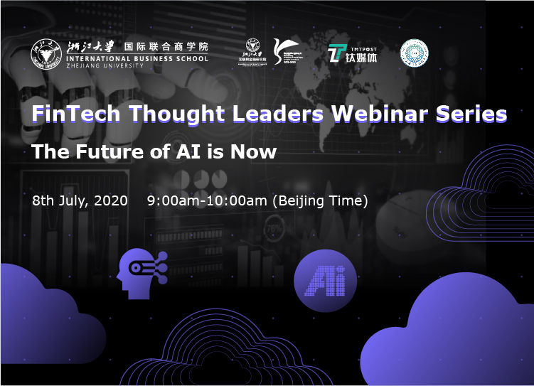 FinTech Thought Leader Webinar Series | The Future of AI is Now