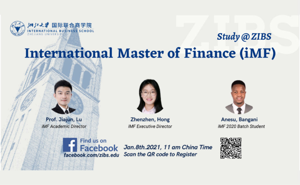 Upcoming Events | Online ZIBS Admission Briefing for International Students